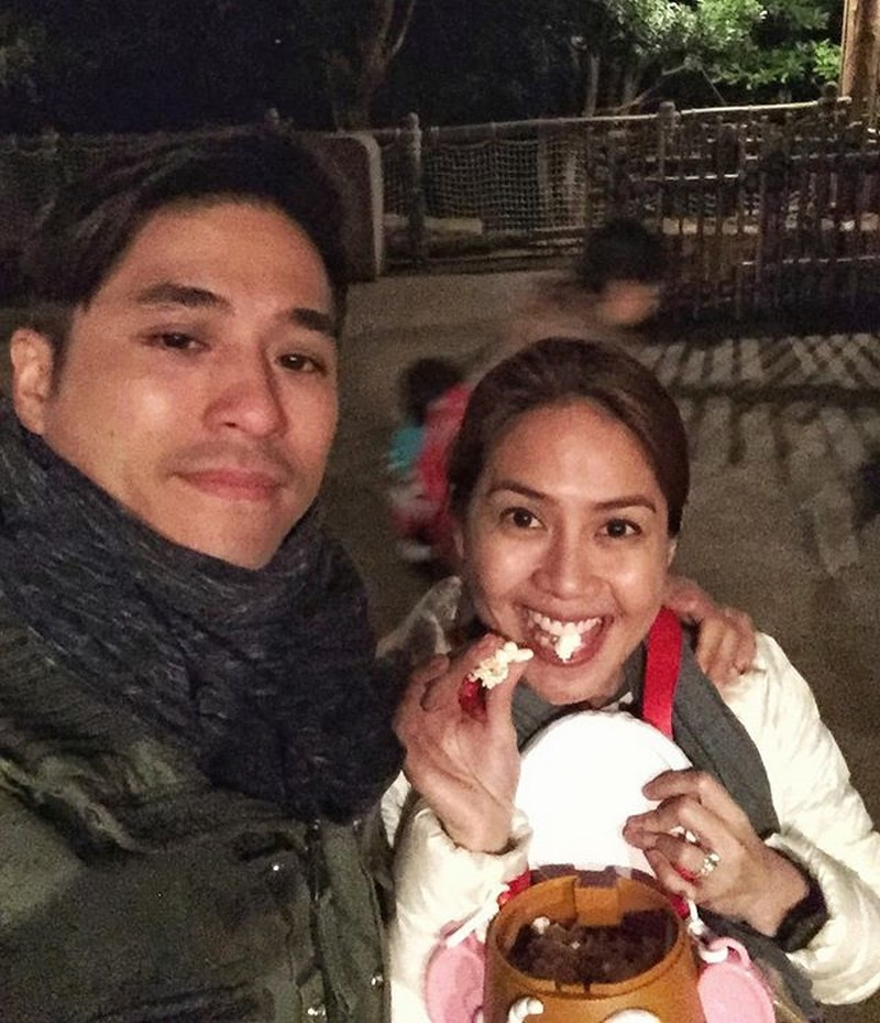 'Kasama ka sa pagtanda' Mga litrato ni Kaye Abad kasama ang kanyang mahal na asawa