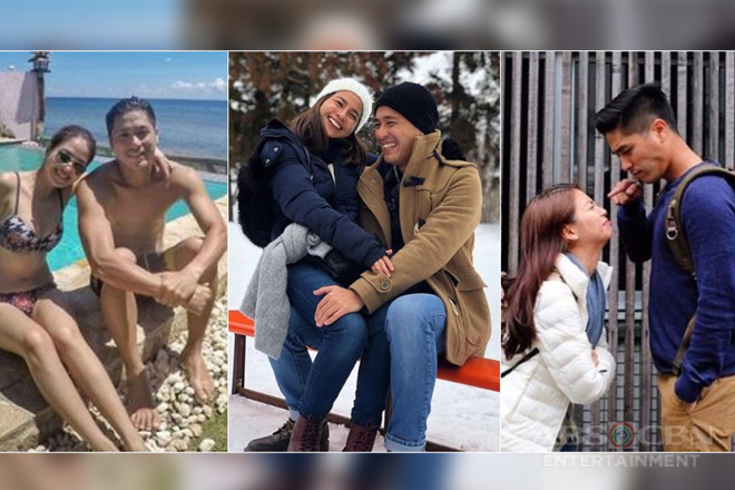 32 photos of Kaye Abad with her number 1 supporter Paul Jake!
