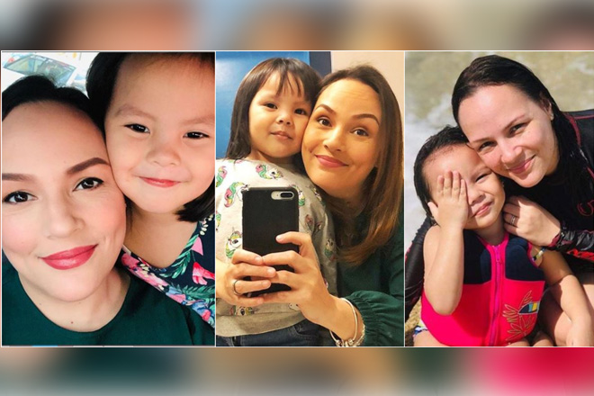 LOOK: Matet De Leon with her number 1 fan baby Mia in 18 photos
