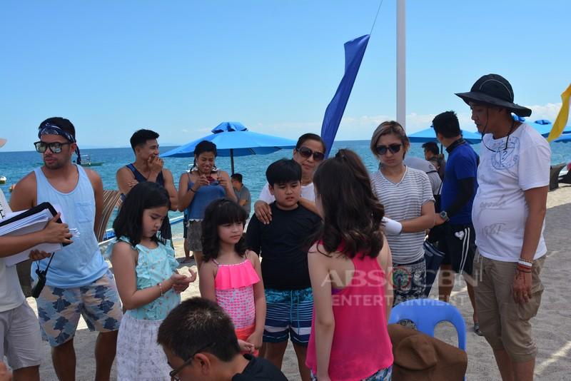 OFF CAM: Pasilip sa summer episode ng Nang Ngumiti Ang Langit