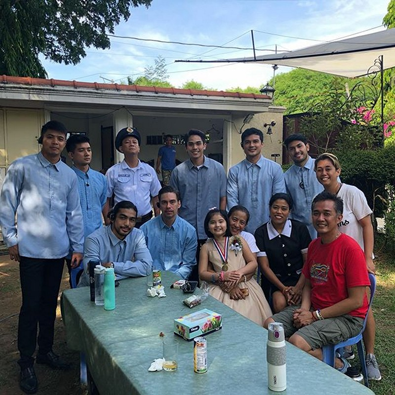 LOOK: Off cam kulitan with the kids of Nang Ngumiti Ang Langit