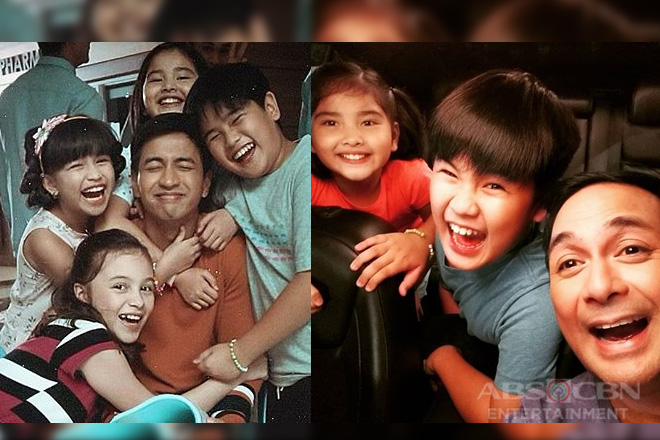LOOK: Off cam kulitan with the kids of Nang Ngumiti Ang Langit