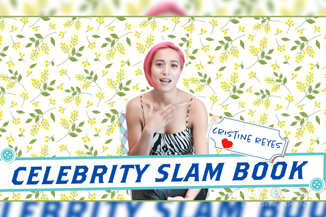 Get to know more about Cristine Reyes as she answers our Celebrity Slam Book questions