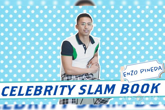 Enzo Pineda answers Celebrity Slam Book  Image Thumbnail